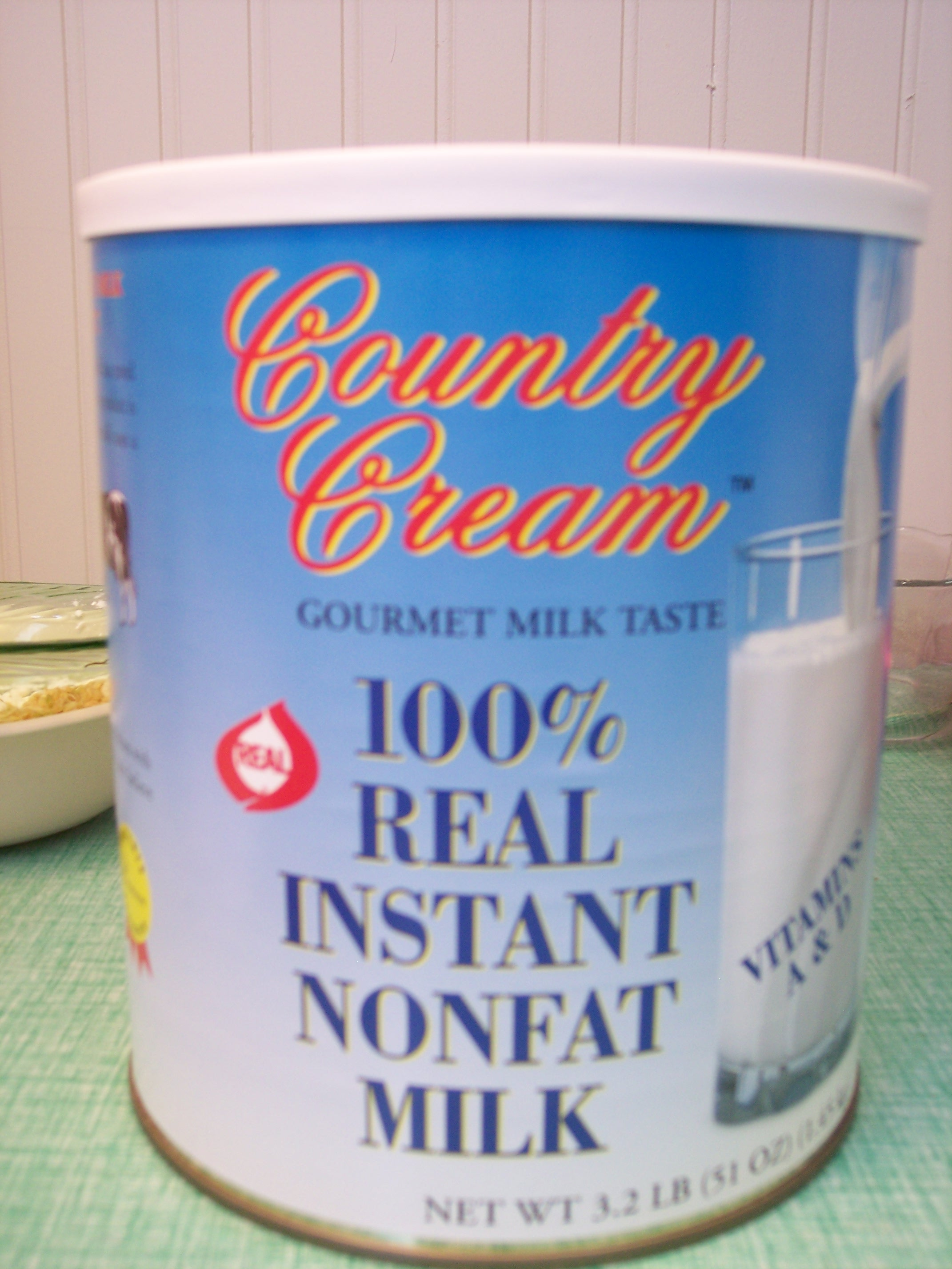 Country Cream Instant Powdered Milk