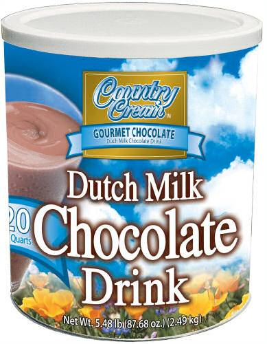 Dutch Chocolate Milk Drink