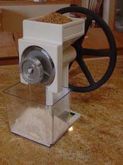 Country Living Grain Mill: Hand Grinder