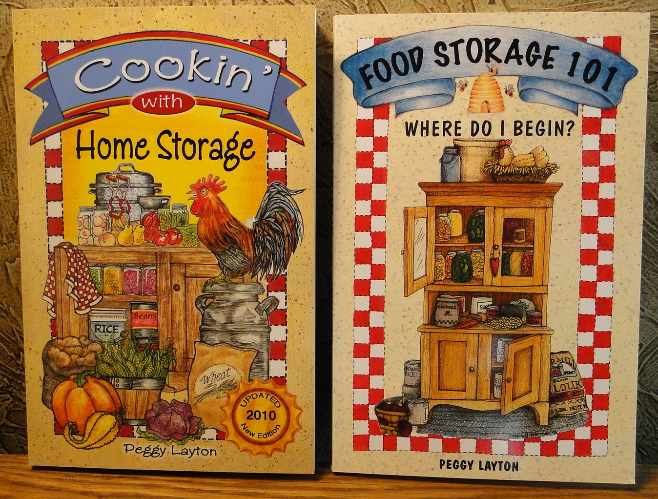 2 Book Special: Cookin' With Home Storage and Food Storage 101. Where do I Begin?