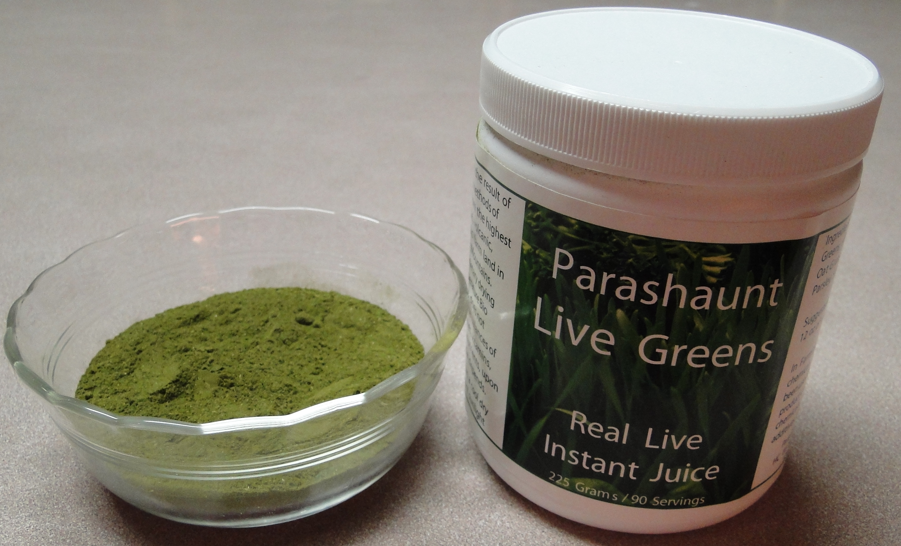 Wheat Grass Live Greens Powder